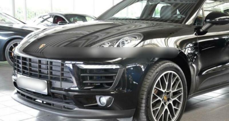 Porsche Macan 3.0 V6 340ch S PDK Noir occasion à Boulogne-Billancourt - photo n°4