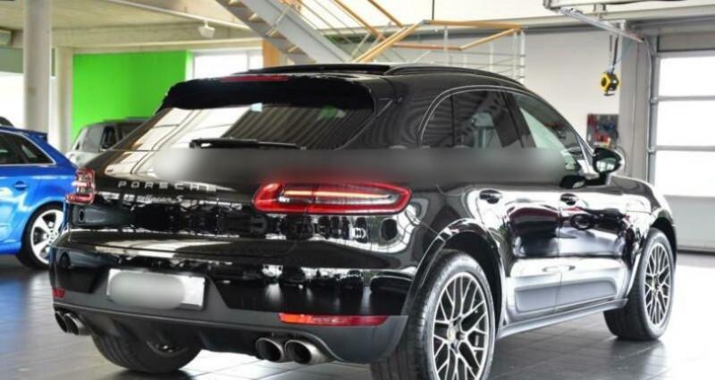 Porsche Macan 3.0 V6 340ch S PDK Noir occasion à Boulogne-Billancourt - photo n°7