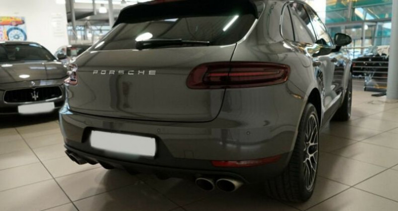 Porsche Macan 3.0 V6 340ch S PDK Gris occasion à Boulogne-Billancourt - photo n°7