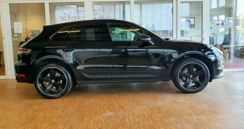 Porsche Macan 3.0 V6 354ch S PDK Noir occasion à Boulogne-Billancourt - photo n°2