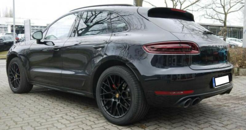 Porsche Macan 3.0 V6 360ch GTS PDK Noir occasion à Boulogne-Billancourt - photo n°2
