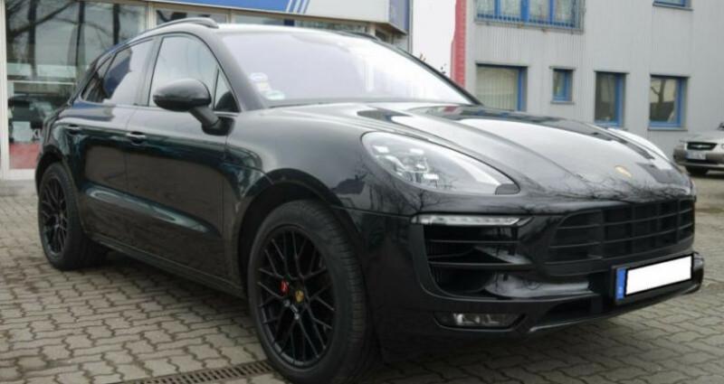 Porsche Macan 3.0 V6 360ch GTS PDK Noir occasion à Boulogne-Billancourt - photo n°7