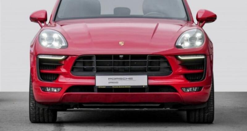 Porsche Macan 3.0 V6 360ch GTS PDK Rouge occasion à Boulogne-Billancourt - photo n°5