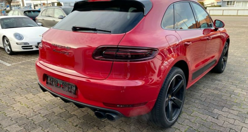 Porsche Macan 3.0 V6 360ch GTS PDK Rouge occasion à Boulogne-Billancourt - photo n°2