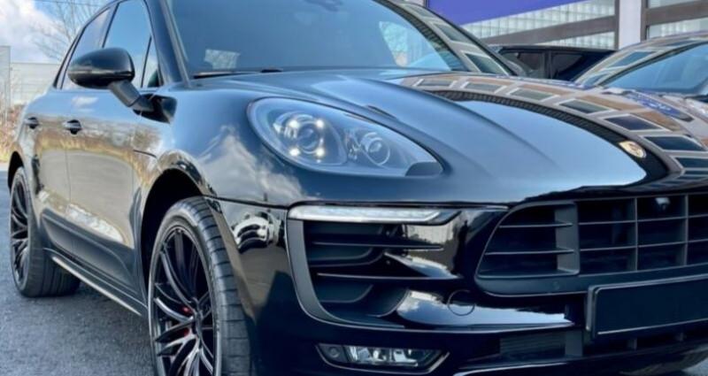 Porsche Macan 3.0 V6 360ch GTS PDK Noir occasion à Boulogne-Billancourt