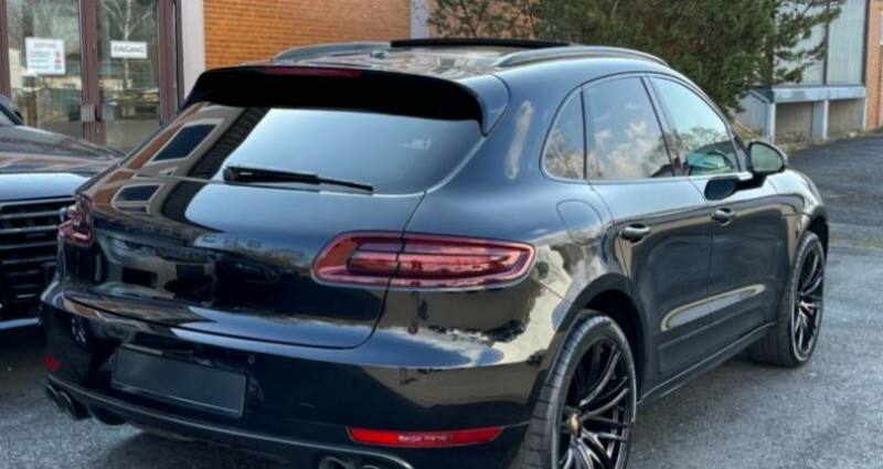 Porsche Macan 3.0 V6 360ch GTS PDK Noir occasion à Boulogne-Billancourt - photo n°5