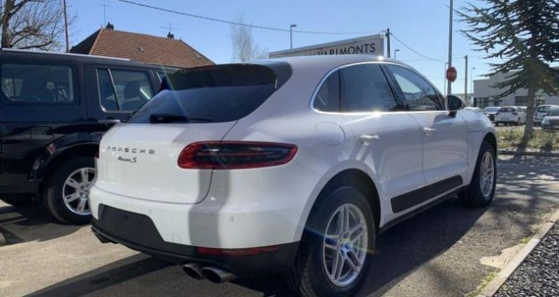 Porsche Macan 3.0 V6 S Diesel Blanc occasion à WOIPPY - photo n°2