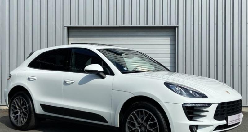 Porsche Macan 3.0 V6 SD 258ch PDK Blanc occasion à PLEUMELEUC - photo n°3