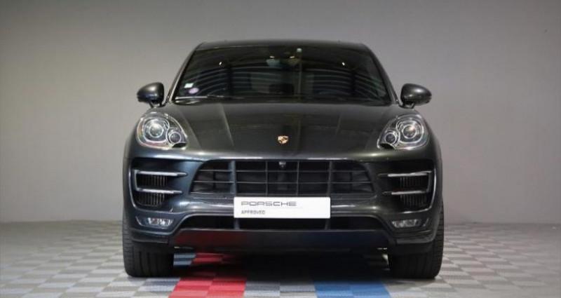 Porsche Macan 3.6 V6 400ch Turbo PDK Gris occasion à SAINT ETIENNE - photo n°6