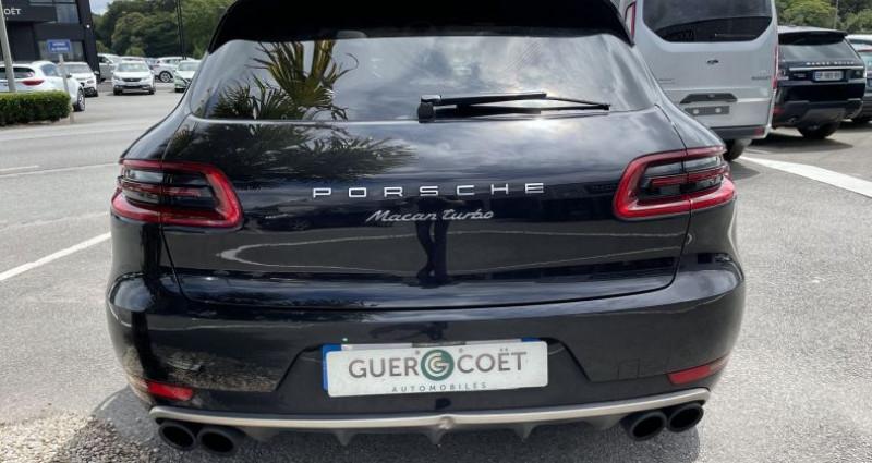 Porsche Macan 3.6 V6 440CH TURBO PACK PERFORMANCE PDK Noir occasion à GUER - photo n°4