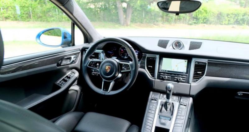 Porsche Macan 3.6 V6 TURBO Bleu occasion à Le Thoronet - photo n°7