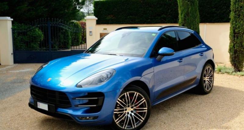Porsche Macan 3.6 V6 TURBO Bleu occasion à Le Thoronet - photo n°3