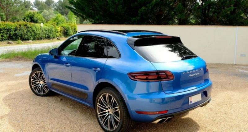 Porsche Macan 3.6 V6 TURBO Bleu occasion à Le Thoronet - photo n°2