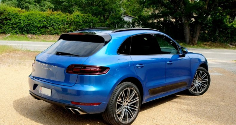 Porsche Macan 3.6 V6 TURBO Bleu occasion à Le Thoronet - photo n°4