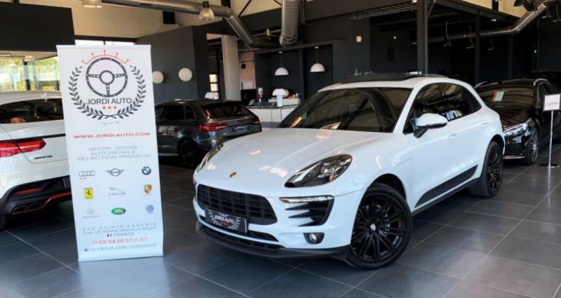 Porsche Macan Diesel 3.0 V6 258 ch S PDK Blanc occasion à LE SOLER