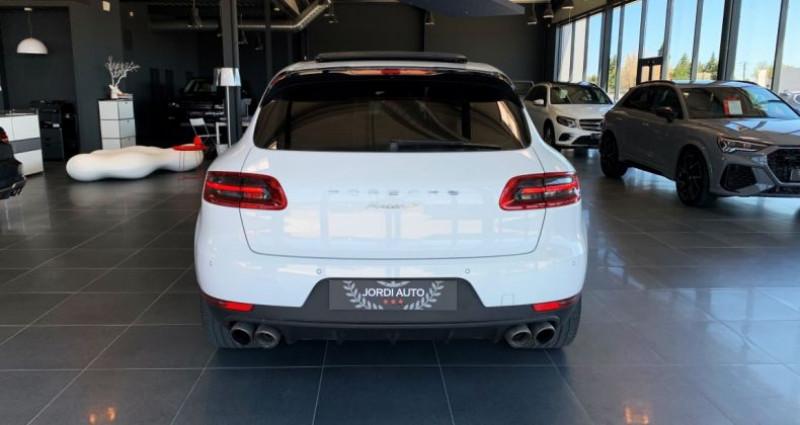 Porsche Macan Diesel 3.0 V6 258 ch S PDK Blanc occasion à LE SOLER - photo n°5