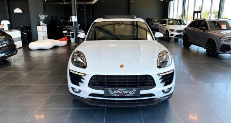 Porsche Macan Diesel 3.0 V6 258 ch S PDK Blanc occasion à LE SOLER - photo n°4