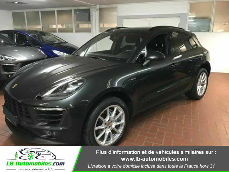 Porsche Macan Diesel 3.0 V6 258 ch / S PDK Gris occasion à Beaupuy