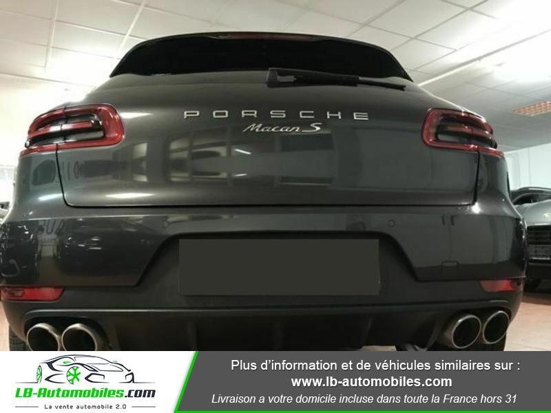 Porsche Macan Diesel 3.0 V6 258 ch / S PDK Gris occasion à Beaupuy - photo n°12