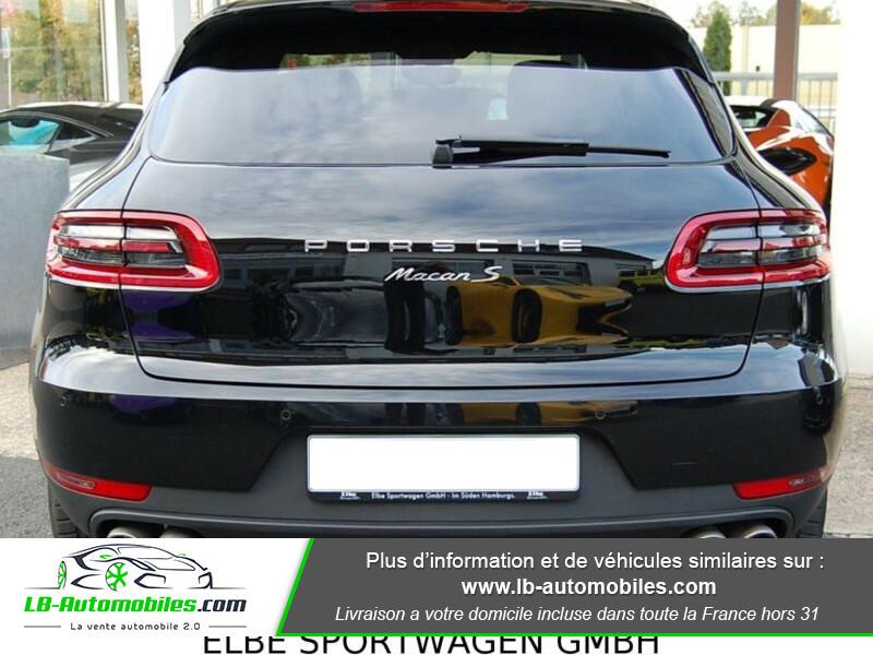 Porsche Macan Diesel 3.0 V6 258 ch / S PDK Noir occasion à Beaupuy - photo n°9