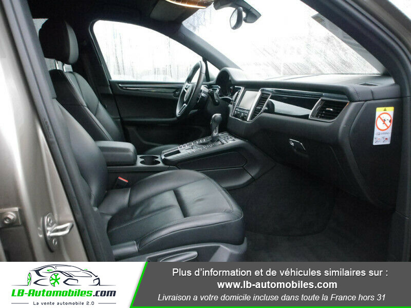 Porsche Macan Diesel 3.0 V6 258 ch / S PDK Argent occasion à Beaupuy - photo n°4