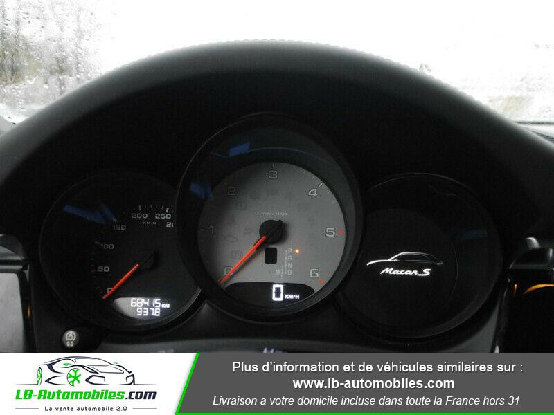 Porsche Macan Diesel 3.0 V6 258 ch / S PDK Argent occasion à Beaupuy - photo n°8