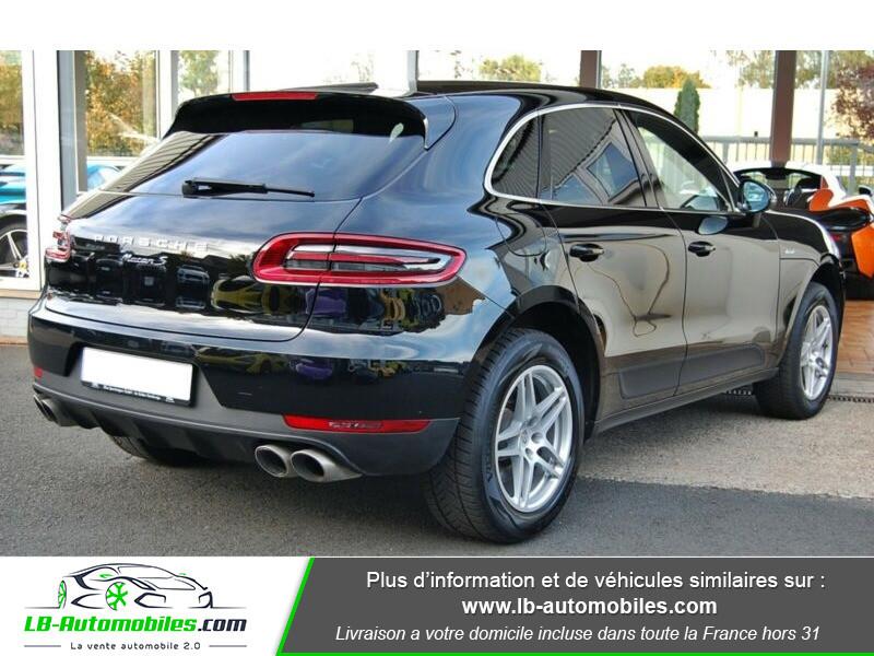 Porsche Macan Diesel 3.0 V6 258 ch / S PDK Noir occasion à Beaupuy - photo n°3