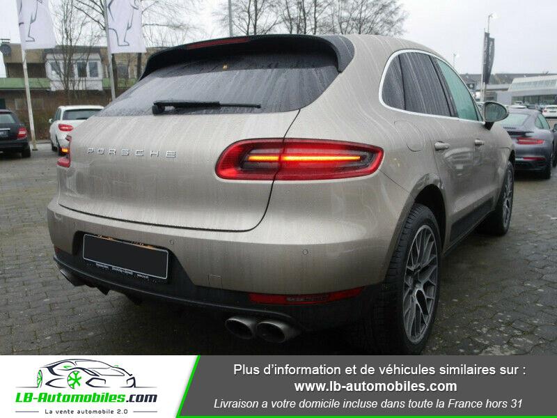 Porsche Macan Diesel 3.0 V6 258 ch / S PDK Argent occasion à Beaupuy - photo n°3