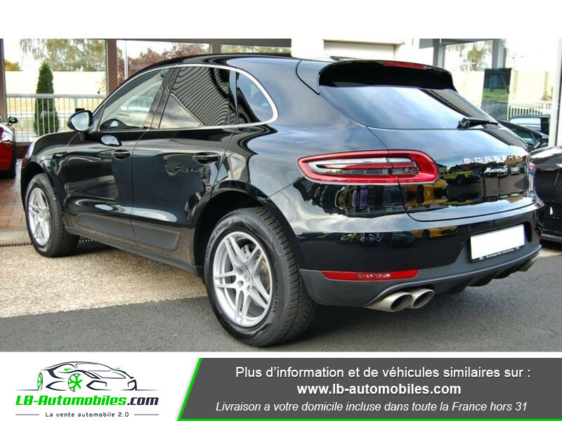 Porsche Macan Diesel 3.0 V6 258 ch / S PDK Noir occasion à Beaupuy - photo n°10