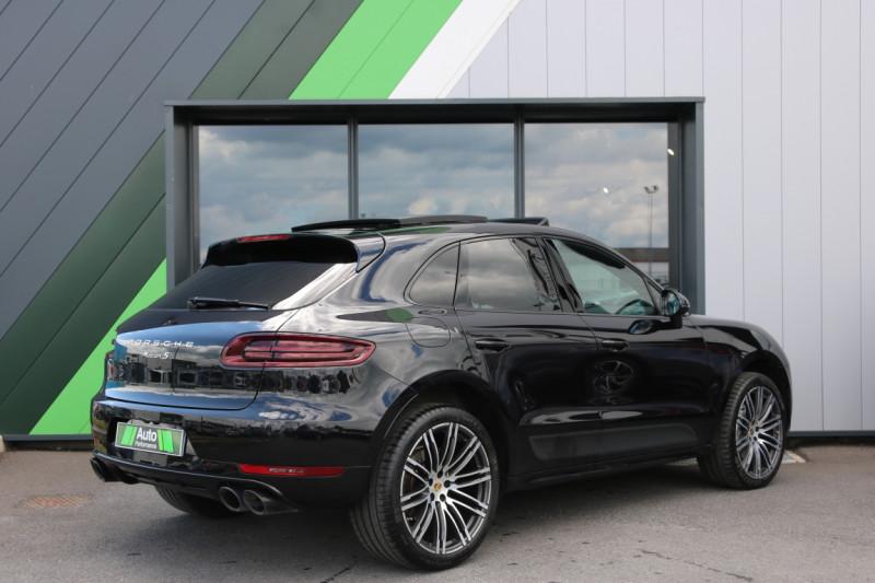Porsche Macan Diesel 3.0 V6 258 S PDK Noir occasion à Jaux - photo n°3