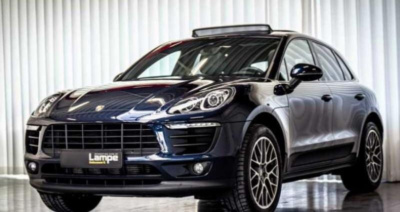 Porsche Macan Essence Pano,1ere Main, Toi Pano, 32791Kms Bleu occasion à Mudaison - photo n°3