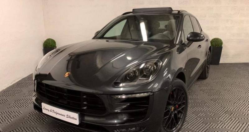 Porsche Macan GTS 3,0 V6 360ch 1°MAIN PDLS PASM TOIT PANO ACC PSE Gris occasion à Villeneuve Loubet