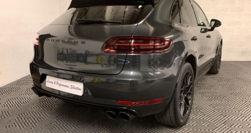 Porsche Macan GTS 3,0 V6 360ch 1°MAIN PDLS PASM TOIT PANO ACC PSE Gris occasion à Villeneuve Loubet - photo n°3