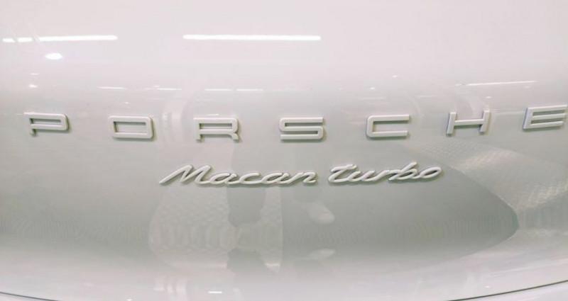 Porsche Macan PORSCHE MACAN 3.6 V6 TURBO 400 CH Blanc occasion à SAINT LAURENT DU VAR - photo n°6