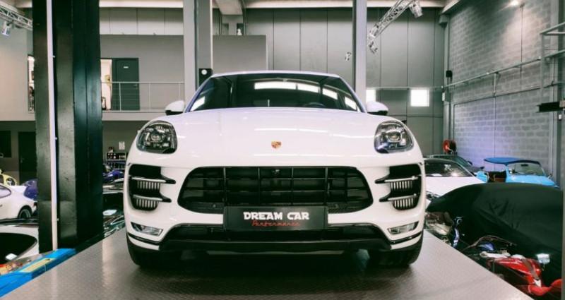 Porsche Macan PORSCHE MACAN 3.6 V6 TURBO 400 CH Blanc occasion à SAINT LAURENT DU VAR - photo n°5