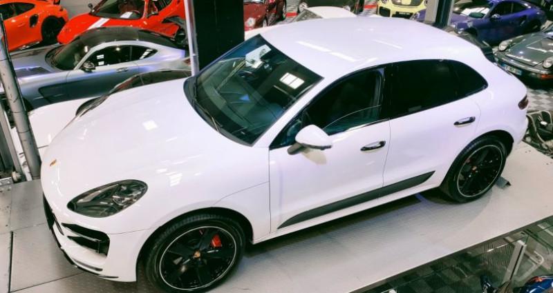Porsche Macan PORSCHE MACAN 3.6 V6 TURBO 400 CH Blanc occasion à SAINT LAURENT DU VAR