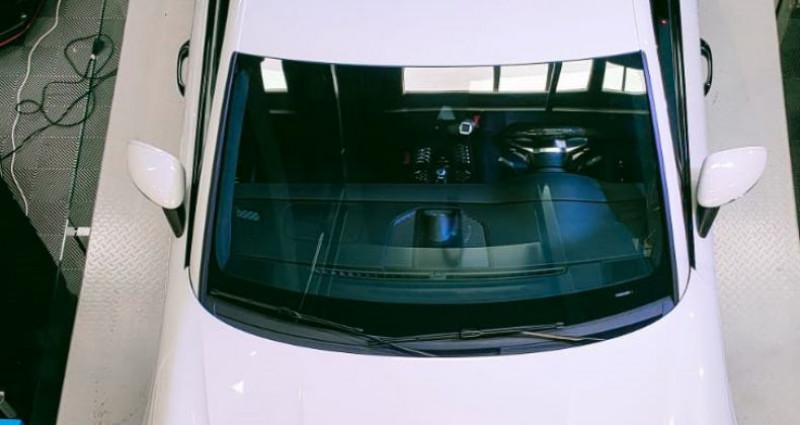 Porsche Macan PORSCHE MACAN 3.6 V6 TURBO 400 CH Blanc occasion à SAINT LAURENT DU VAR - photo n°4