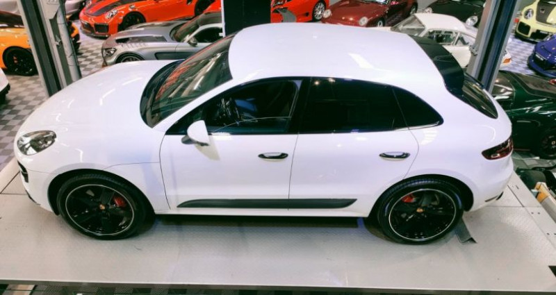 Porsche Macan PORSCHE MACAN 3.6 V6 TURBO 400 CH Blanc occasion à SAINT LAURENT DU VAR - photo n°2