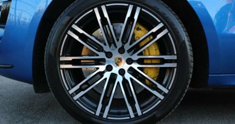 Porsche Macan Porsche Macan Turbo Performance Bleu occasion à Mudaison - photo n°5