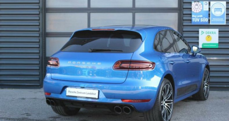 Porsche Macan Porsche Macan Turbo Performance Bleu occasion à Mudaison - photo n°3