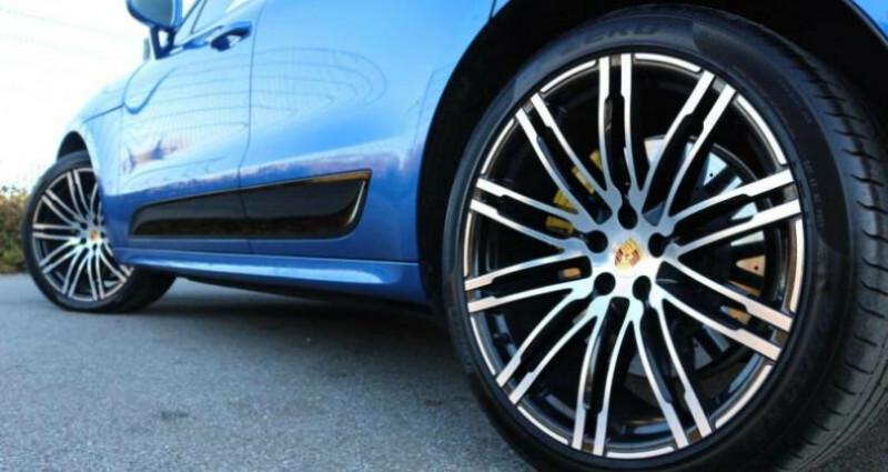 Porsche Macan Porsche Macan Turbo Performance Bleu occasion à Mudaison