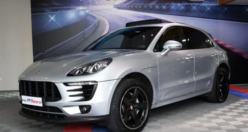 Porsche Macan S 3.0 V6 258 Phase 2 PDK GPS Bose Hayon PDLS TO Alarme Suspe Gris occasion à Sarraltroff - photo n°5