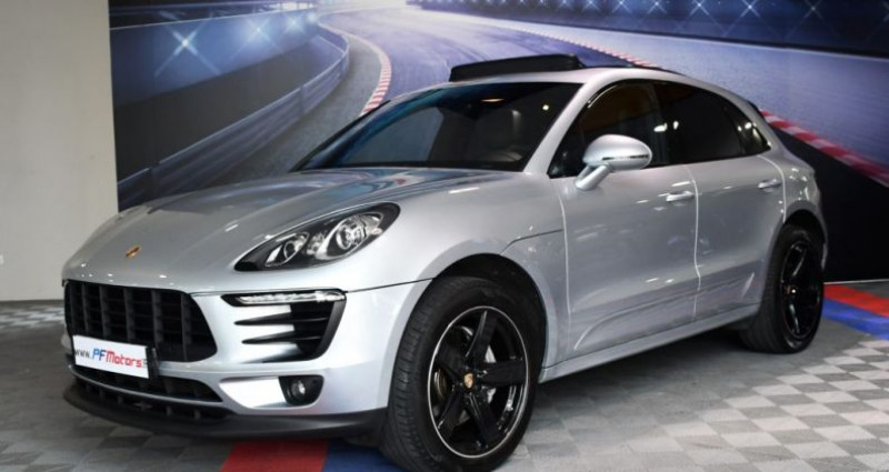 Porsche Macan S 3.0 V6 258 Phase 2 PDK GPS Bose Hayon PDLS TO Alarme Suspe Gris occasion à Sarraltroff - photo n°3