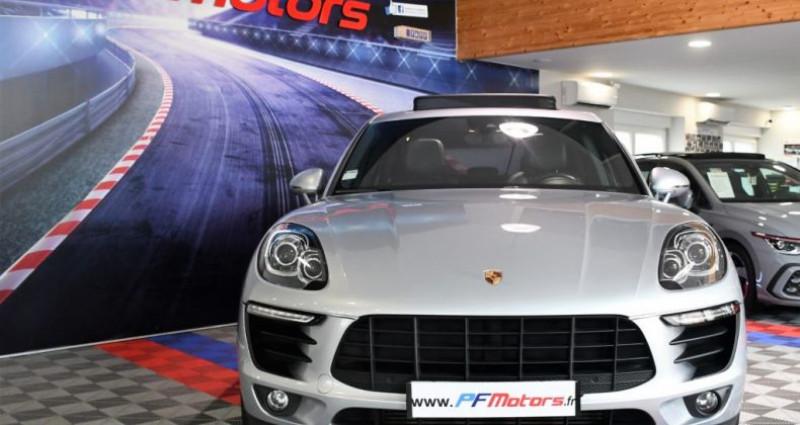 Porsche Macan S 3.0 V6 258 Phase 2 PDK GPS Bose Hayon PDLS TO Alarme Suspe Gris occasion à Sarraltroff - photo n°6