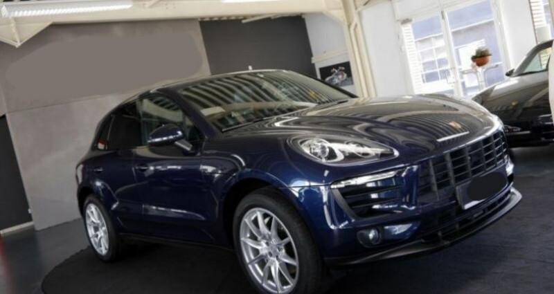 Porsche Macan S Diesel 258CV PDK Bleu occasion à Boulogne-Billancourt - photo n°4