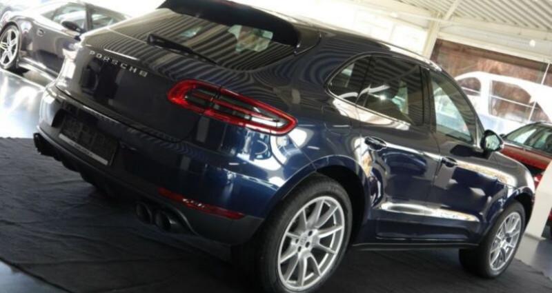 Porsche Macan S Diesel 258CV PDK Bleu occasion à Boulogne-Billancourt - photo n°5