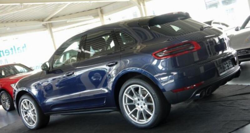 Porsche Macan S Diesel 258CV PDK Bleu occasion à Boulogne-Billancourt - photo n°2
