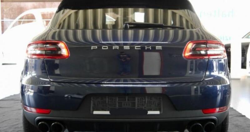 Porsche Macan S Diesel 258CV PDK Bleu occasion à Boulogne-Billancourt - photo n°6