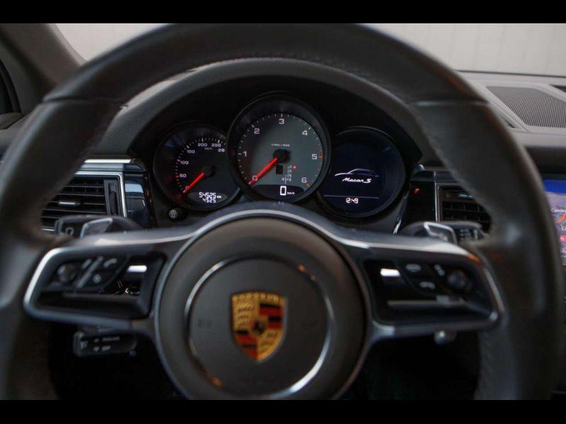 Porsche Macan S Diesel Noir occasion à BEAUPUY - photo n°6