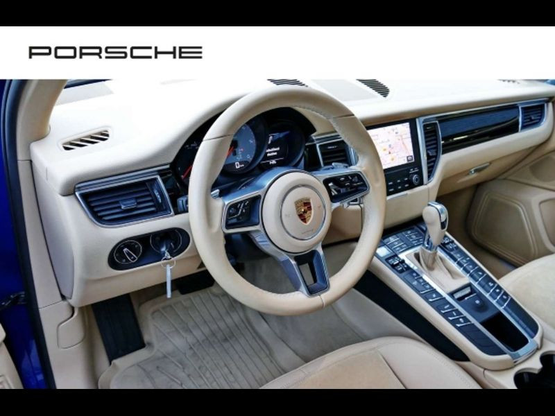 Porsche Macan S Diesel Bleu occasion à BEAUPUY - photo n°8